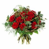 Троянди в плющі